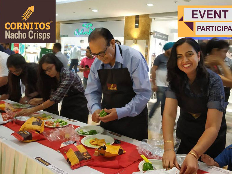 Cornitos Nacho Challenge at DLF City Centre Mall IT Park. Chandigarh