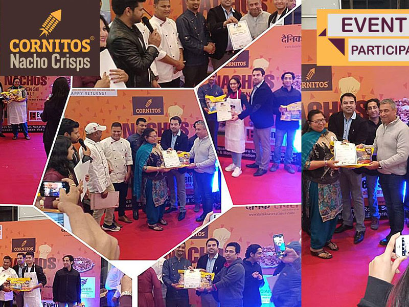 Prize distribution of Cornitos Nacho Challenge - Mohali Edition in association with Bestech Square Mall.
