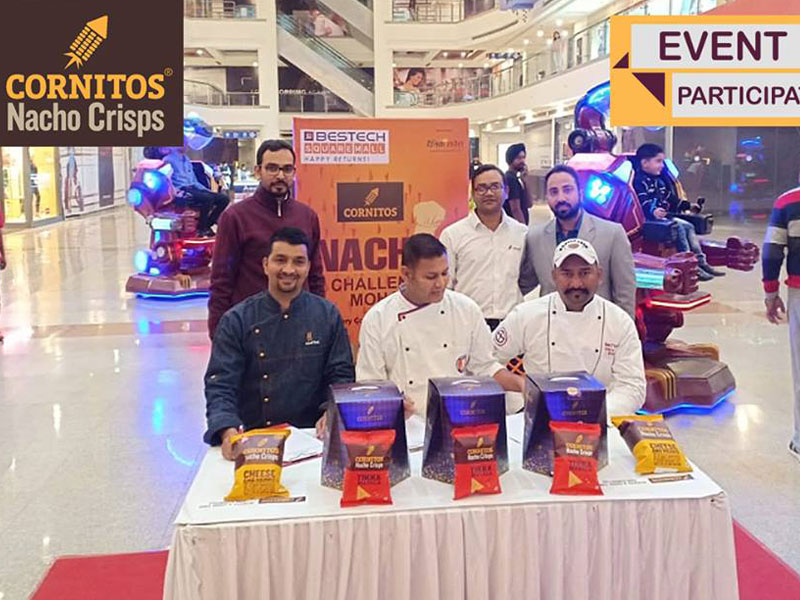 Event Judges - Chef Naveen Panwar of Hotel Oyster in Chandigarh, Executive Chef Raj Pundir of Brew Bros in Mohali and Master Chef Bheem of Beer Castle in Punchkula