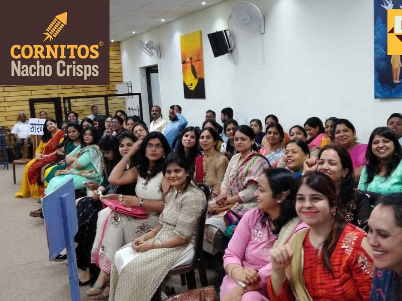 Teachers Day Special Cornitos Healthy Snacking Awareness Activity at St Edmunds School Jawahar Nagar Jaipur